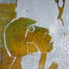 Große Erwartungen; Holzschnitt; © A.Maier