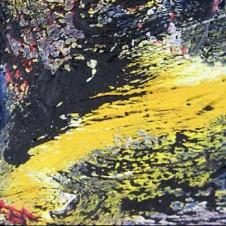 luz y sombra VII; Öl und Strukturmasse; © A.Maier